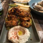 The star of the show - the Tawook Chicken...Yuuuuum