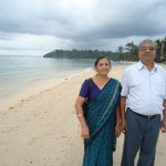 Radhanagar No 7 beach, Havelock Island, is one of the cleanest beaches in the world, I am told