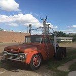 Truck & Skeleton