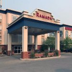 From the street, the Ramada is clean, modern and highly presentable. A good choice
