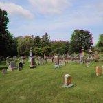 Many tombstones