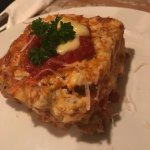 Lasagna classic: homemade lasagna, with Bolognese sauce and béchamel cream