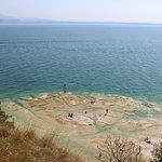 Extrémité de la presqu'île et Lac de Garde