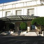 Frente de este hotel histórico