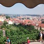View from the Bellavista over Prague and the Vltava