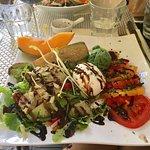 Excellente salade végétarienne