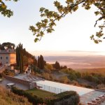 Il Borgo with Pool at Sunrise