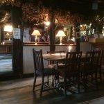 Inside of pub--lovely!