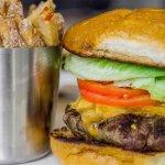 Burger+Handcut Fries