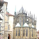 St Vitus Cathedral in Prague Castle District