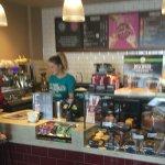 Main customer counter