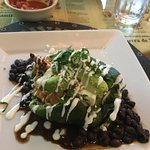 Chile relleno , beautiful decor