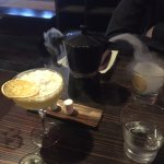 Coffee Smoked Old Fashioned and Mandarin Escort