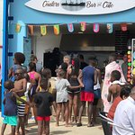 This was a busy day at the Beaches Cafe Bar.  Great time and good service.  The food is good qua