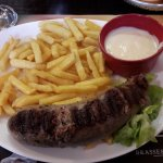 Andouillette d'Arras sauce Maroilles