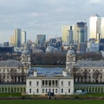 View of Queen's House from Royal Observatory