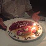 Birthday Flan!!