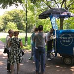 This is a super little coffee shop in the park not there every day but can find it on the web