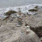 There are lots of rocks to create a tower of your own!