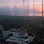 Sunrise breakfast at The Nest