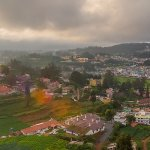 view from the hotel terrace, Sterling-Elk hill Ooty