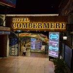 Combermere entry from Mall Road, at night
