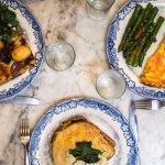 quiche - croque monsieur - vegetarian tarte
