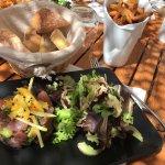 Plat du jour .... tartare de thon 😋