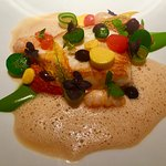 Turbot and sorrel sauce
