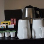 The tea making facilities, no biscuits!!!