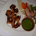 Portion of Fish Tikka