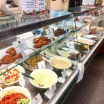 LB's deli counter - freshly made Lebanese dishes and pastries!