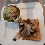 Mushrooms on Toast (starter)