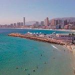 Hermosa y tranquila playa, aun en temporada alta!