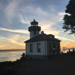 Lime Kiln State Park sunset