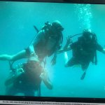 First dive!