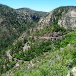 Oak Creek Canyon south of Flagstaff
