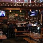 Typical brew pub ambiance