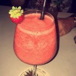 Frozen Strawberry Margarita, delicious!