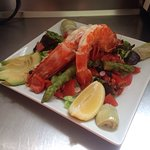 Salade aux gambas sauvages
