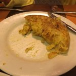 Yo nunca pido tortilla de patatas pero de verdad que estaba buenísima!!!!