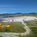 THIS is Achmelvich beach - not secluded!
