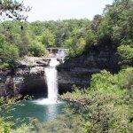 DeSoto Falls-part of DeSoto State Park. 7 miles from Lodge-www.alapark.com/desoto-state-park