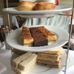 £18.95 per person afternoon tea for for people here absolute joke!!!! Rubbish, burnt scones, cak