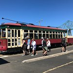 trolley at stop 1
