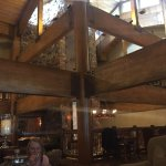 Cool beams in lobby