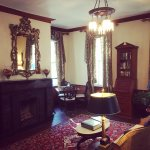 Historic parlor for reading, games and conversation - very charming