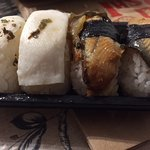 sushi pez mantequilla y anguila