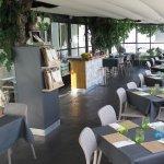 Salón terraza climatizado