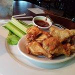 Cicken wings dry